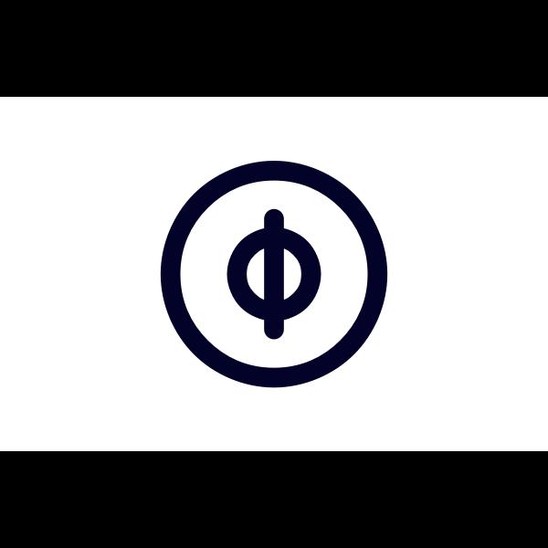 Flag of Nakatanega, Kagoshima