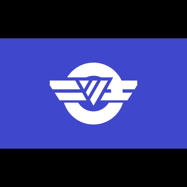 Flag of Shimotsu, Wakayama