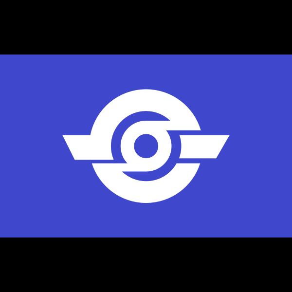 Flag of Tamatsukuri, Ibaraki