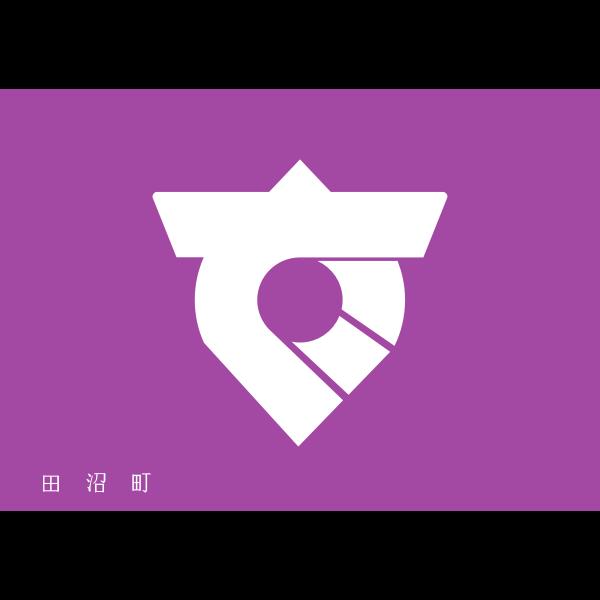 Flag of Tanuma, Tochigi