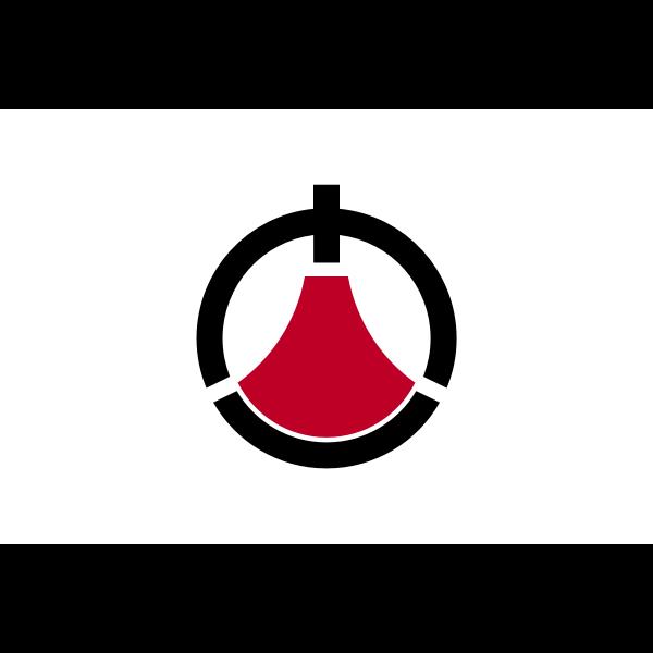 Flag of Toshima, Kagoshima