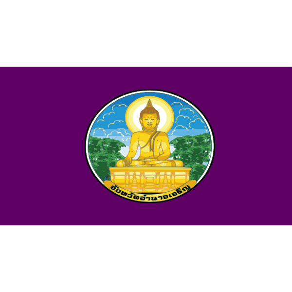 Flag of Amnat Charoen Province