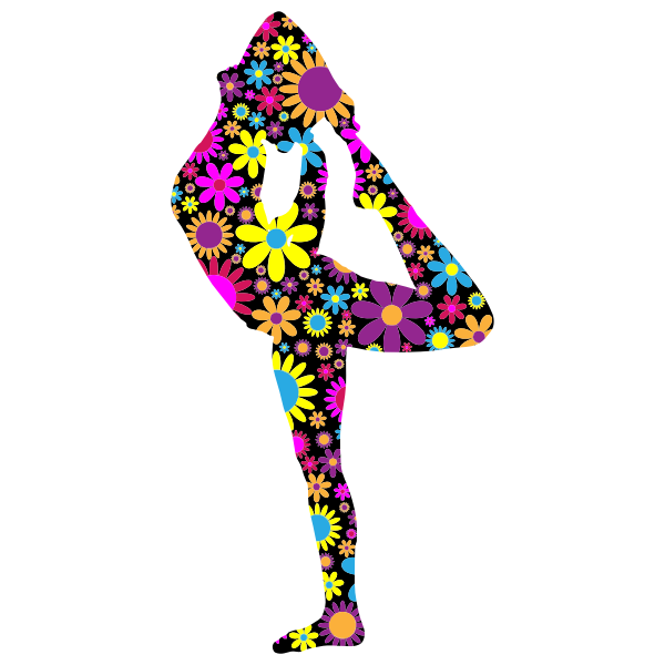 Flowery yoga