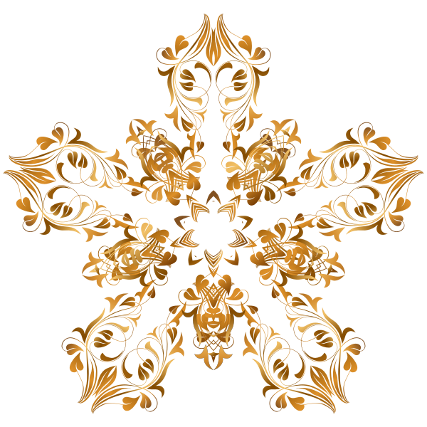 Flourish decorative star