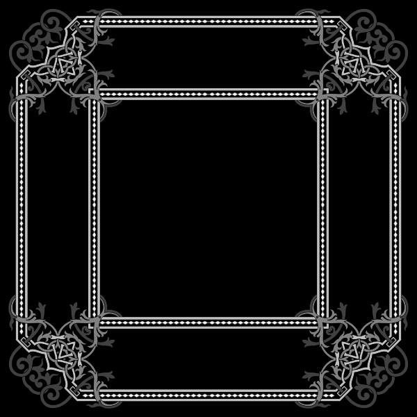 Floral Flourish Frame Interpolated
