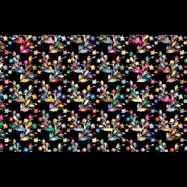 Flowery prismatic pattern