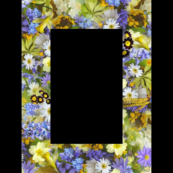 Floral Frame-1582302922