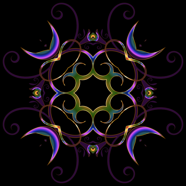 Flourishy Floral Design 18