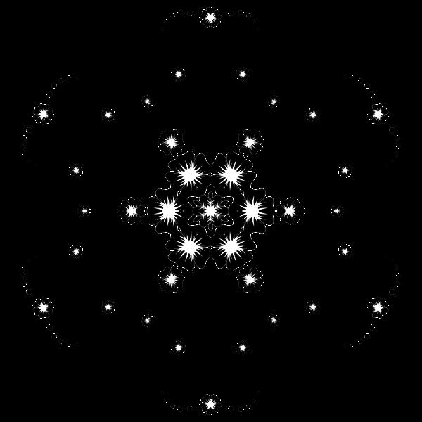 Flower Frame Extrapolated 26