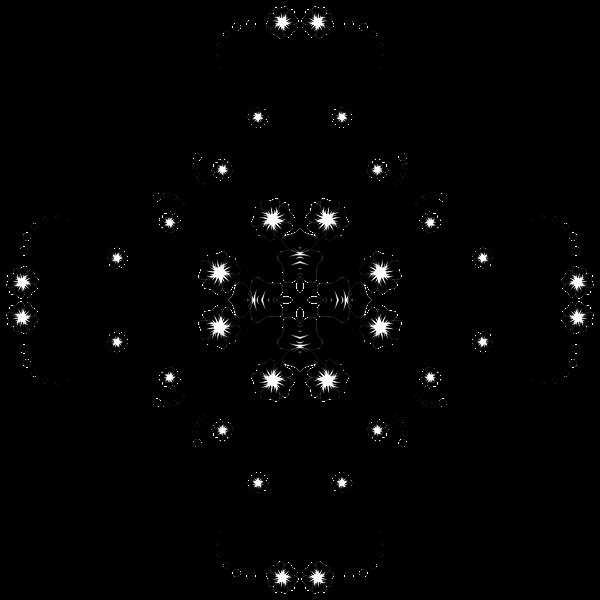 Flower Frame Extrapolated 27