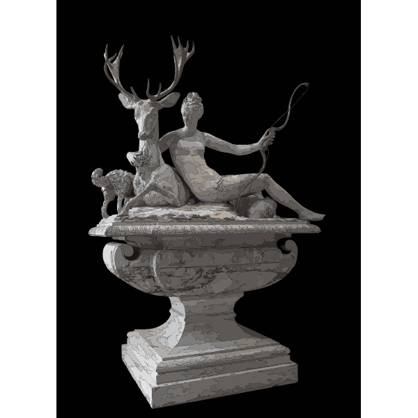 Fontaine Diane Fountain Diana Anet Louvre MR 1581 MR sup 123 2016122138