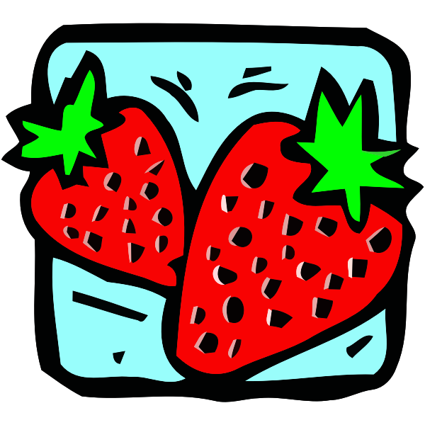 Strawberry icons