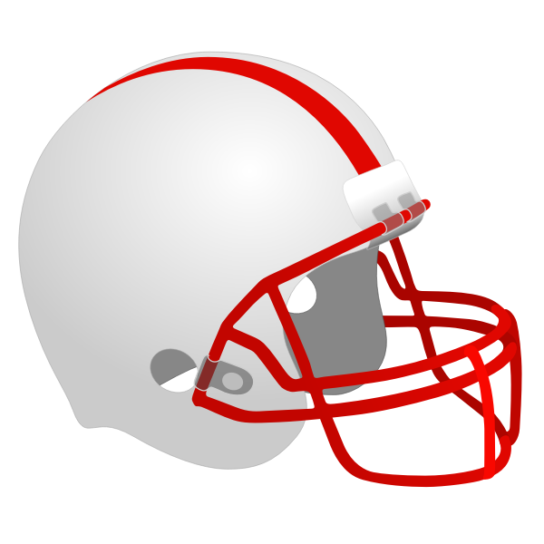 Football Helmet Vector Clip Art