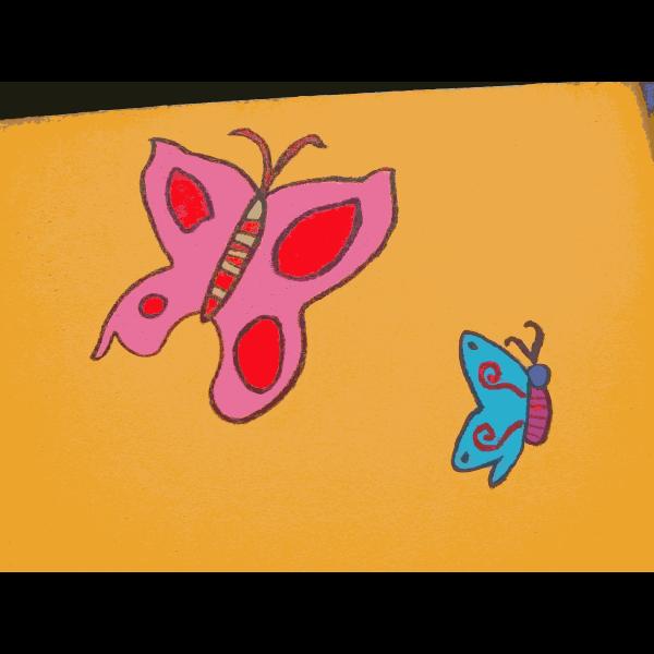 Found Mural Butterflies 3 2014111933