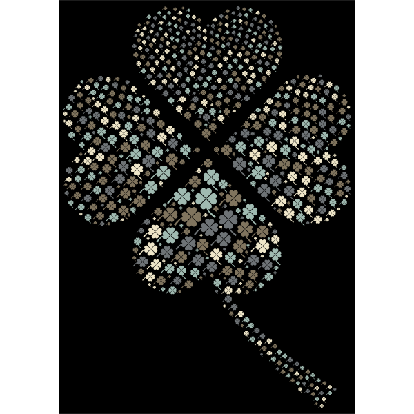 Four Leaf Clover Fractal