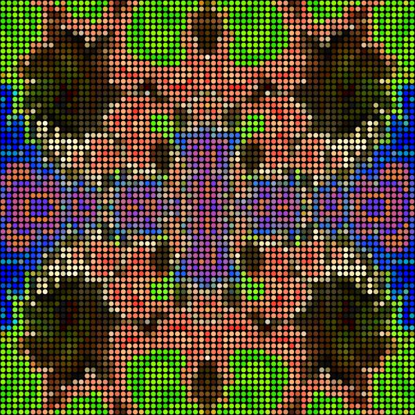 Fractal Dot Pattern Tile