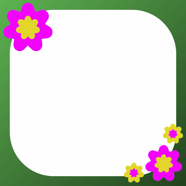 Frame With Flowers-1574677611