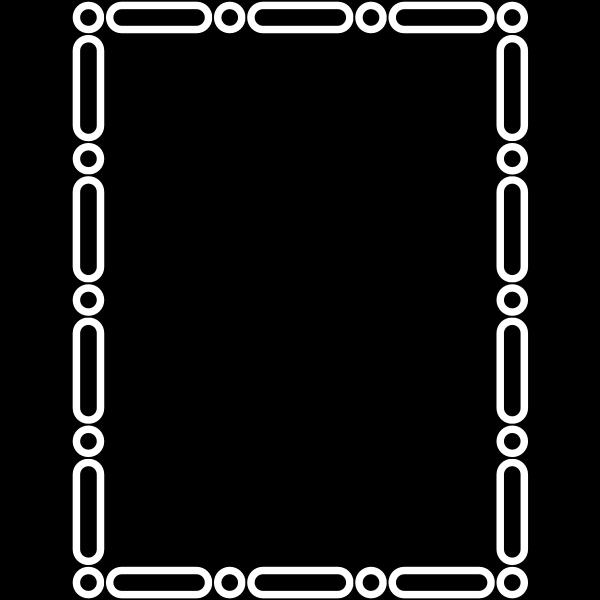 Black decorative frame-1579689062