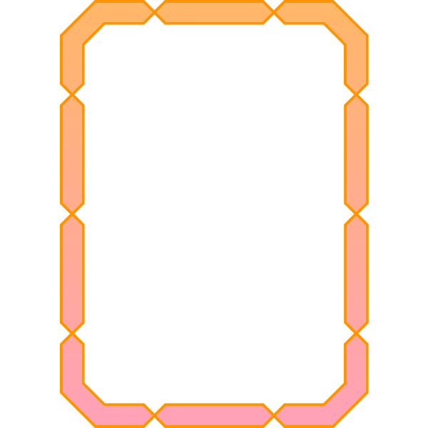 Frame gradient color
