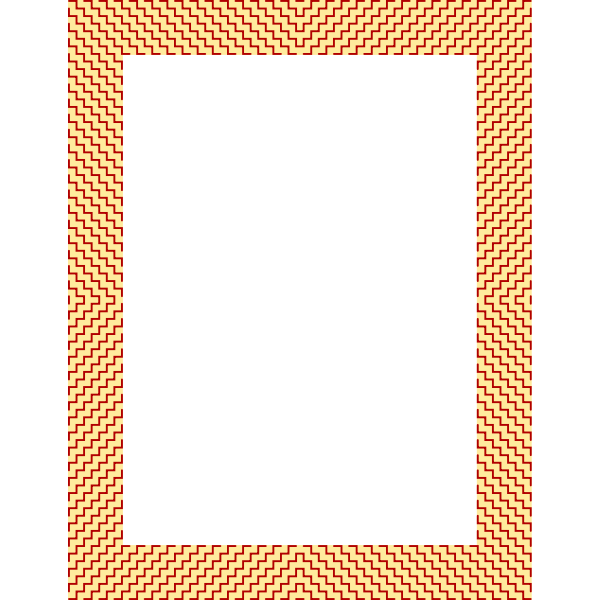 Frame Fabric Pattern