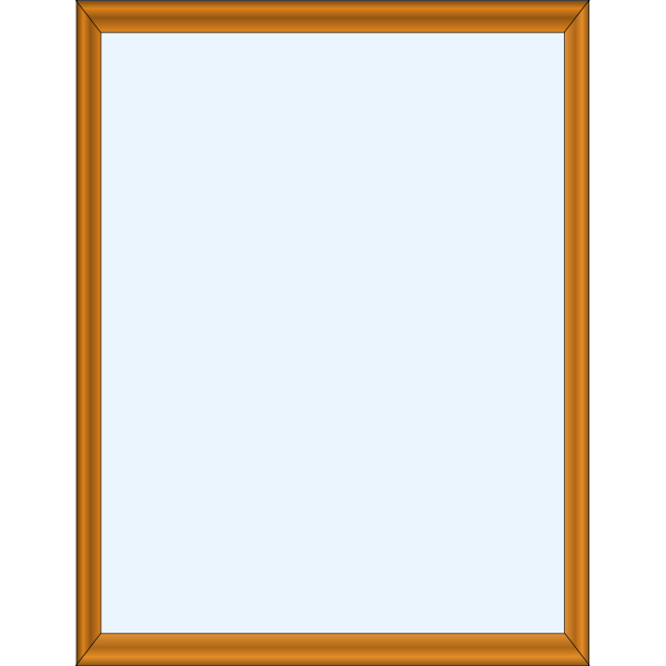 Mirror in a frame