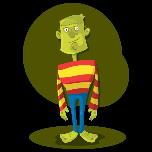 Cartoon Frankenstein