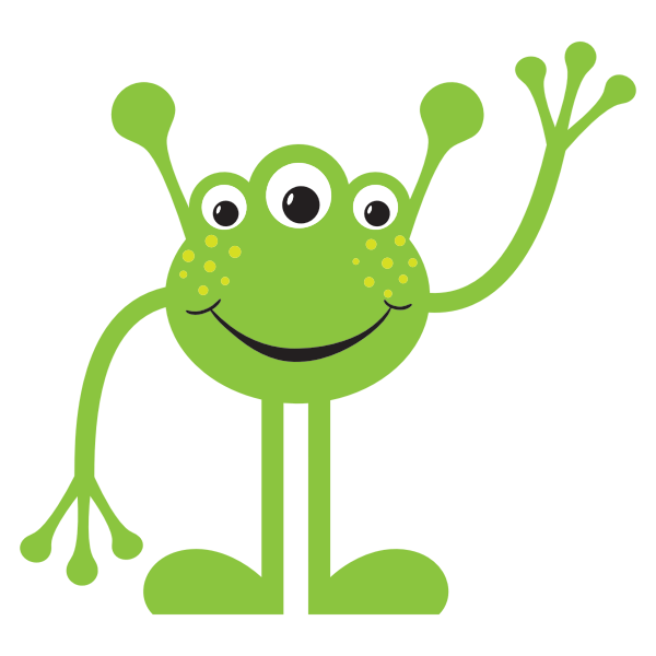 Friendly alien | Free SVG