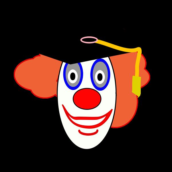 Clown school graduate