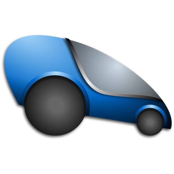 Futuristic Automobile Vector