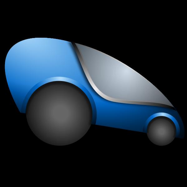 Futuristic Automobile Vector