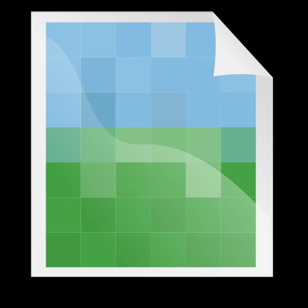 GIF image vector icon