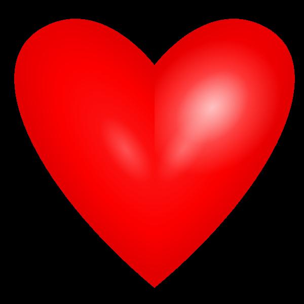 Heart vector design element