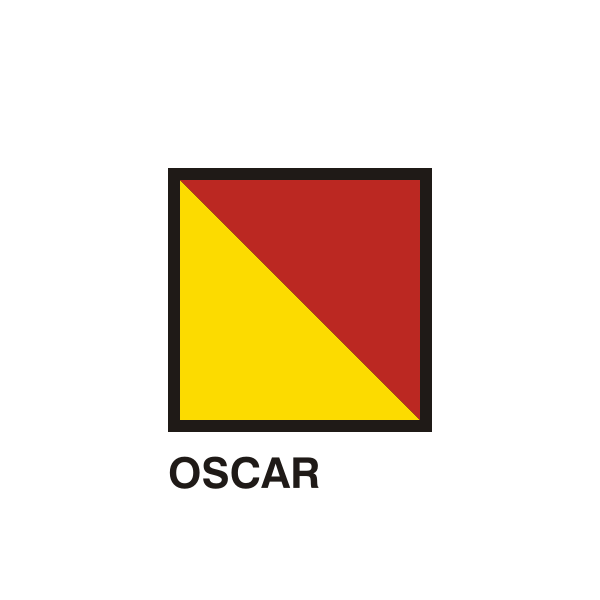 Gran Pavese flags, Oscar flag