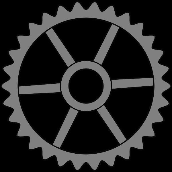 30-tooth cogwheel