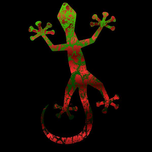 Gecko vector illustration