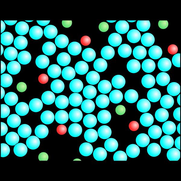 Gemisch Teilchenmodell Schaum