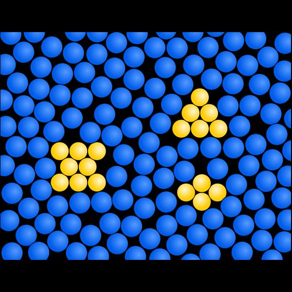 Gemisch Teilchenmodell Suspension