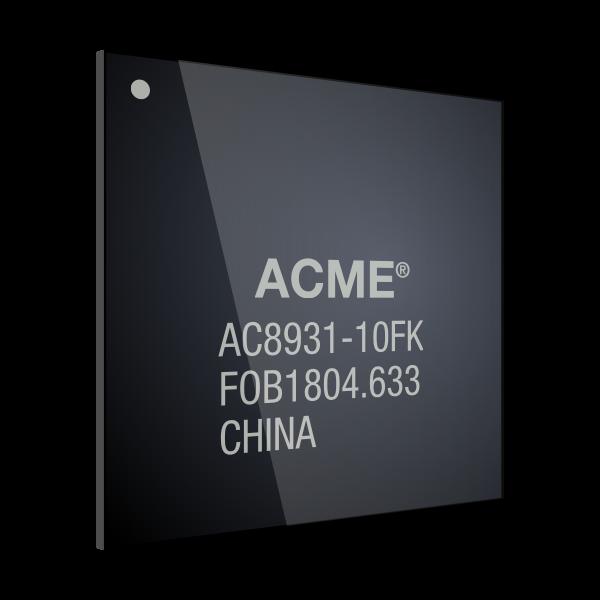 BGA chip plate vector illustration