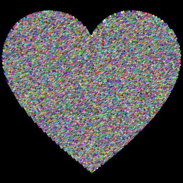 Geometric Heart Prismatic