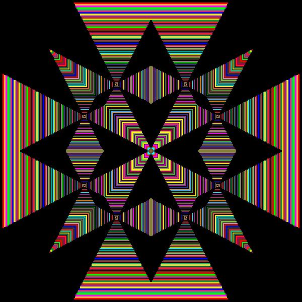 Geometric Stripes Design