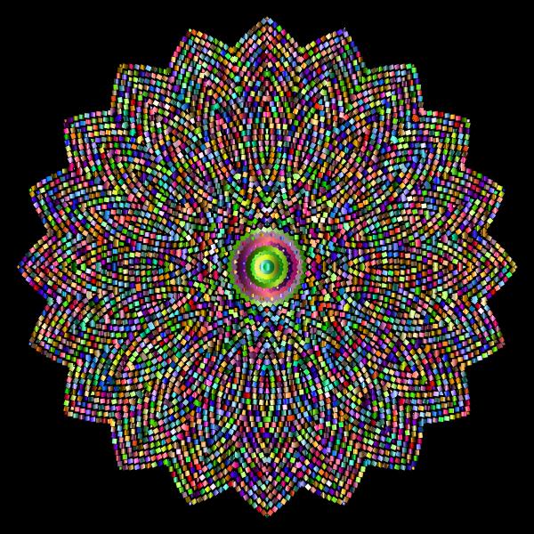 Geometric Tiled Design Chromatic