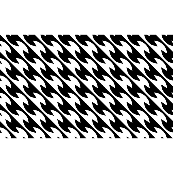 Geometric pattern vector silhouette