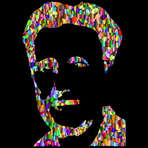 George Orwell Press Photo Silhouette Prismatic 2