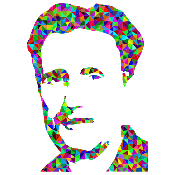 George Orwell Press Photo Silhouette Prismatic