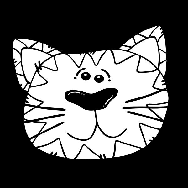 G Cartoon Cat Face 5