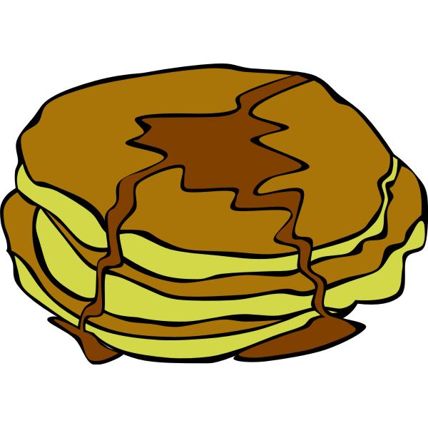 Fast Food, Breakfast, Pancakes