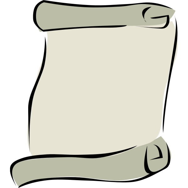 Vector image of parchment background