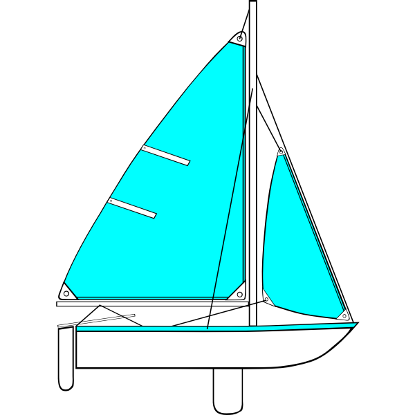 Sailing Parts of Boat Illustration