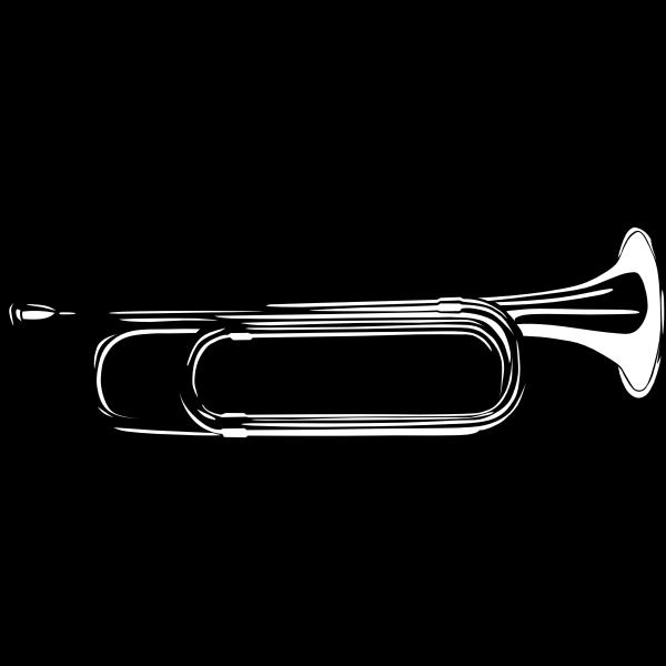 Bugle vector graphics