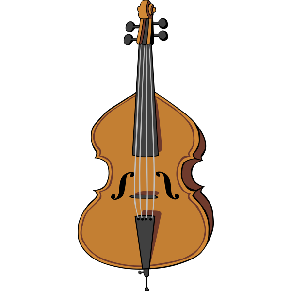Vector image of cello